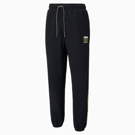 Pantaloni in pile PUMA x HELLY HANSEN, Puma Black, small