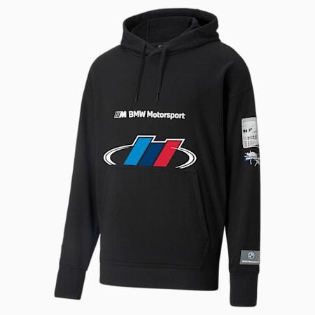 BMW M Motorsport Street 후드 티/BMW MMS Street Hoodie, Puma Black, small-KOR