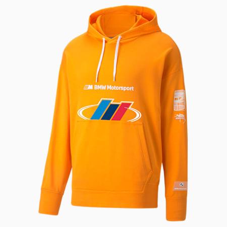 Sudadera con capucha BMW M Motorsport Street para hombre, Vibrant Orange, pequeño