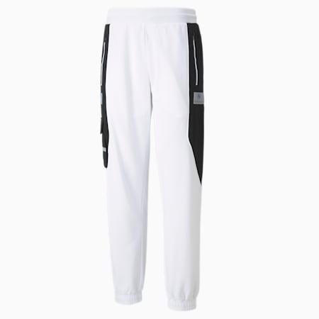 Pantalones deportivosBMW M MotorsportStreet para hombre, Puma White, pequeño