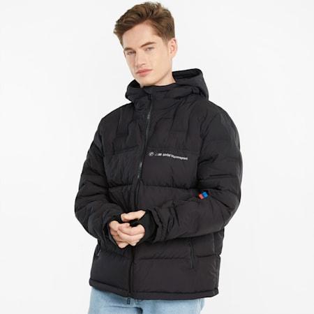 BMW M Motorsport Down Men's Jacket, Puma Black, small-GBR