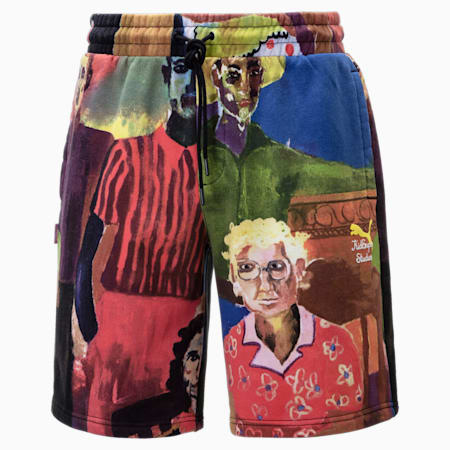 PUMA x KidSuper Printed Men's Shorts, Puma White-AOP, small-GBR