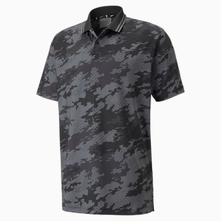 X Camouflage Polo, Puma Black, small-SEA