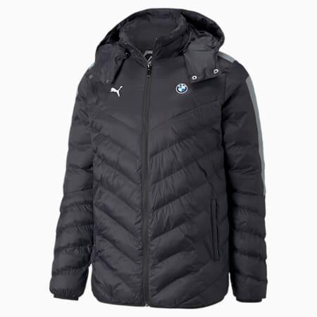 BMW M Motorsport T7 EcoLite Men's Jacket, Puma Black, small