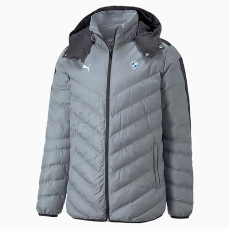 BMW M Motorsport T7 EcoLite Men's Jacket, Medium Gray Heather, small