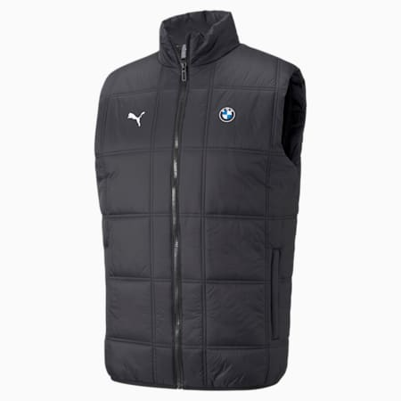 BMW M Motorsport Padded Men's Vest, Puma Black, small