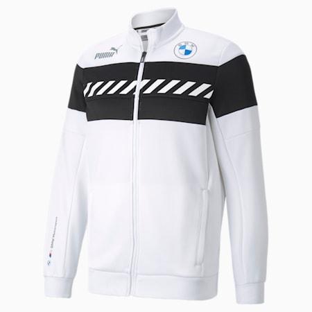 Chaqueta deportiva BMW M Motorsport SDS para hombre, Puma White, pequeño