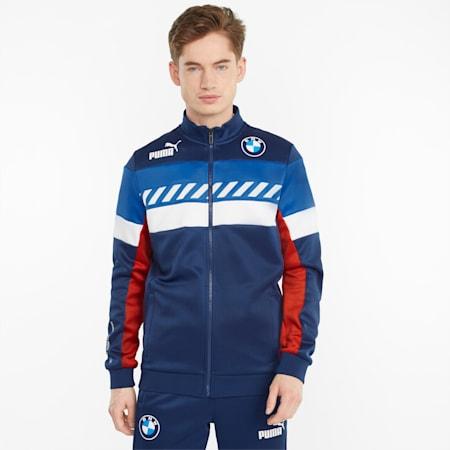 BMW M Motorsport SDS 트랙 재킷/BMW MMS SDS Track Jacket, Marina-Blueprint-High Risk Red, small-KOR