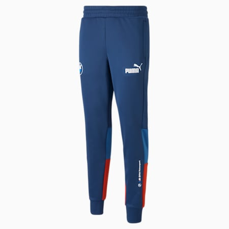 BMW M Motorsport SDS 트랙 팬츠/BMW MMS SDS Track Pants, Strong Blue-Estate Blue-Fiery Red, small-KOR
