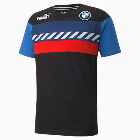 Camiseta BMW M Motorsport SDS para hombre, Puma Black, pequeño