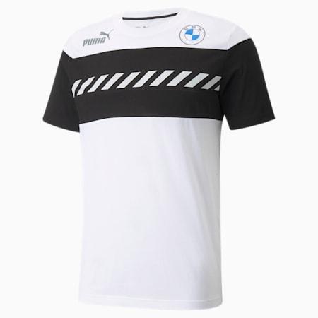 BMW M Motorsport SDS Herren T-Shirt, Puma White, small