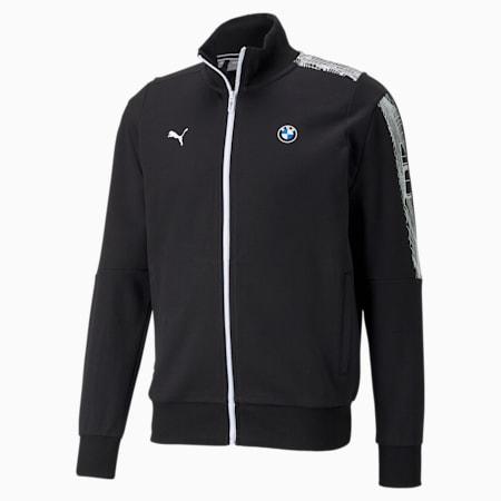 BMW M Motorsport T7 Full-Zip Men's Jacket, Puma Black, small-SEA