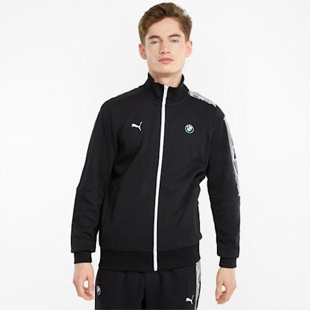 BMW M Motorsport T7 Full-Zip Men's Jacket, Puma Black, small-GBR