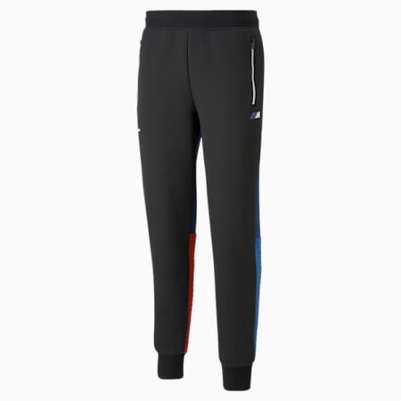 Pantalones deportivos BMW M Motorsport para hombre, Marina-Blueprint-High Risk Red, pequeño