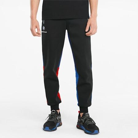 Pantalons en molleton BMW M Motorsport, homme, Marina-bleu ferro-rouge risque élevé, petit