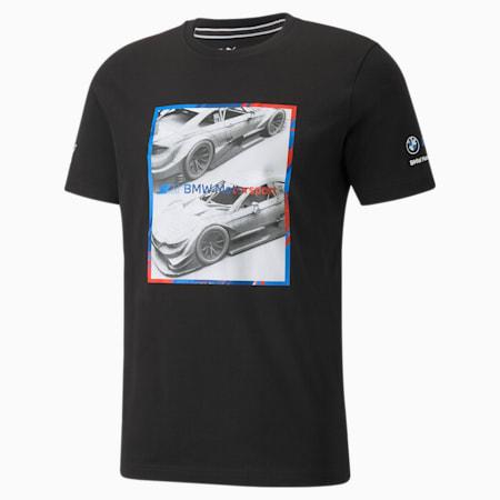T-shirt à logo graphique BMW M Motorsport, homme, Puma Black, petit