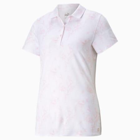 Cloudspun Tropical Women's Polo Shirt, Parfait Pink, small-SEA