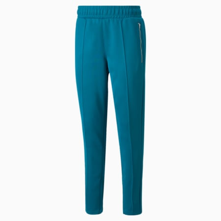 Pantalon de basketball en molleton PUMA x TMC, 18-4630 TCX Tahitian Tide, petit