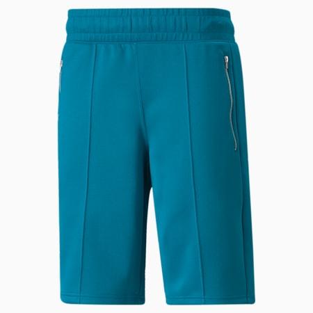 Shorts bermuda da basket PUMA x TMC Hussle Way uomo, 18-4630 TCX Tahitian Tide, small