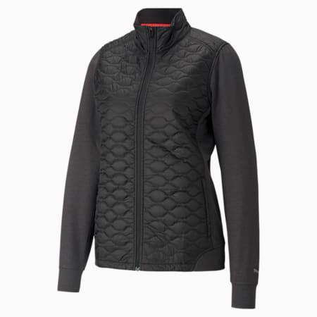Cloudspun WRMLBL Women's Golf Jacket, Puma Black, small-GBR