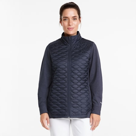 Cloudspun WRMLBL Women's Golf Jacket, Navy Blazer, small-GBR