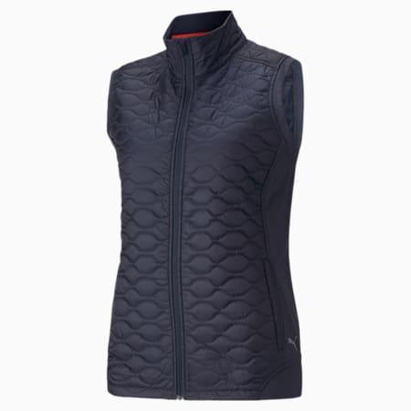 Cloudspun WRMLBL Women's Golf Vest, Navy Blazer, small-GBR