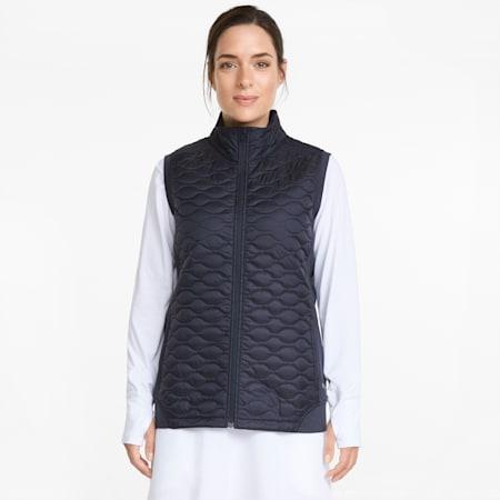 Cloudspun WRMLBL Women's Golf Vest, Navy Blazer, small