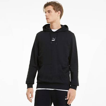 ELEVATE Men's Hoodie, Cotton Black, small