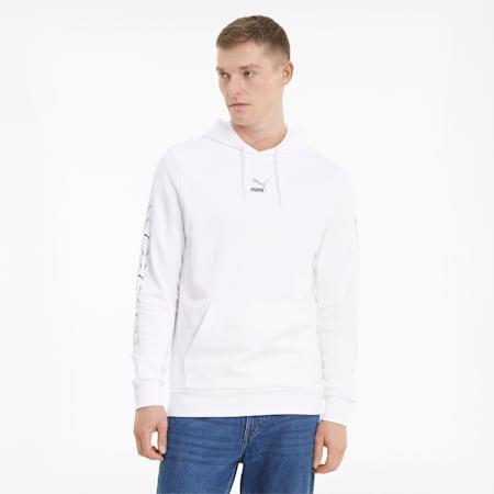 Męska bluza z kapturem Porsche Design RCT, Puma White, small