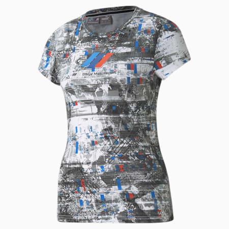 Damski T-shirt BMW M Motorsport Street, Puma White, small