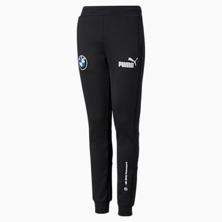 Pantalones de entrenamiento BMW M Motorsport SDS para niños, Puma Black, pequeño