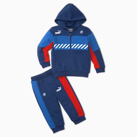 Conjunto deportivo BMW M Motorsportpara infantes y bebés, Strong Blue-M-Color, pequeño