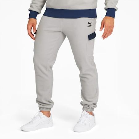 Winter Classics Men's Sweatpants, Gray Violet, small
