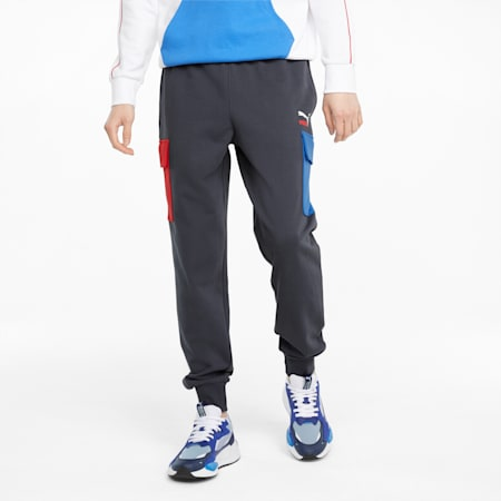 CLSX French Terry Men's Cargo Pants, Ebony, small