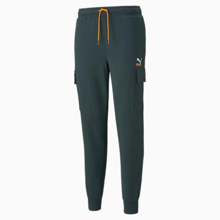 Pantalon cargo en tissu bouclette CLSX French Terry, homme, Pignons verts, petit