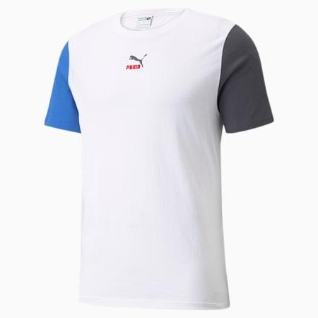 CLSX Regular Fit Men's T-Shirt, Puma White, small-IND
