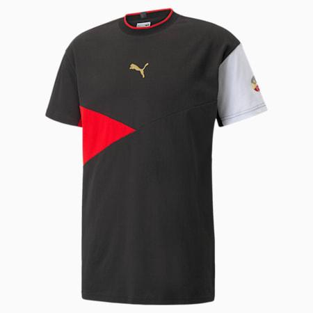 Camiseta AS para hombre, Puma Black, pequeño