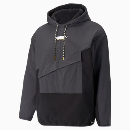 PUMA International Winterised Men's Hoodie, Puma Black, small-GBR