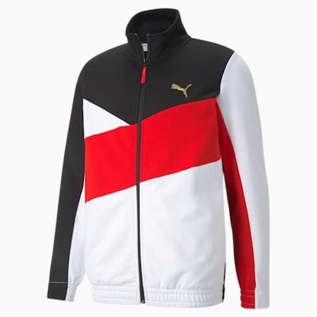 Art of Sport Regular Fit Men's Track Jacket, Puma Black, small-IND