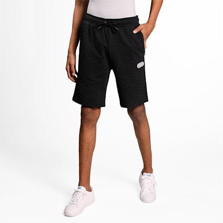 one8 Virat Kohli Men's Sweat Slim Shorts, Puma Black, small-IND