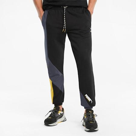 PUMA International Men's Pants, Puma Black, small-SEA