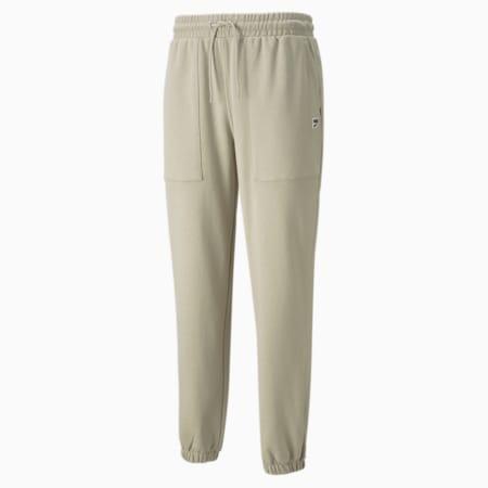 Pantalones deportivos de felpa Downtown para hombre, Spray Green, pequeño