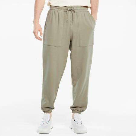 Pantalon de survêtement en French terry Downtown homme, Spray Green, small