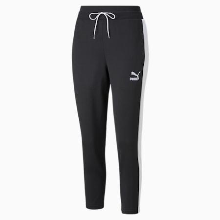 Iconic T7 Cigarette Women's Pants, Puma Black, small-GBR