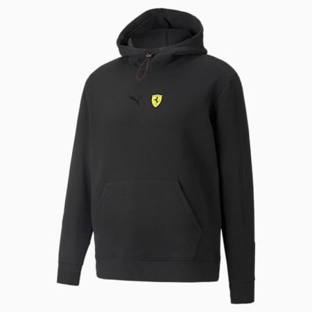 Sudadera con capucha Scuderia Ferrari Race para hombre, Puma Black, pequeño