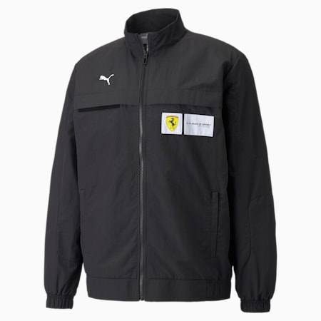 Scuderia Ferrari Race Statement Woven Men's Jacket, Puma Black, small