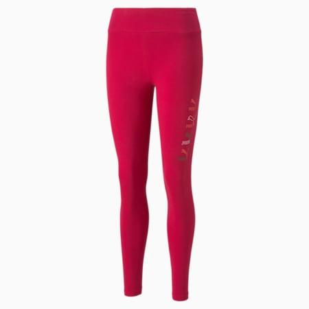Leggingsestampados clásicos para mujer, Persian Red, pequeño
