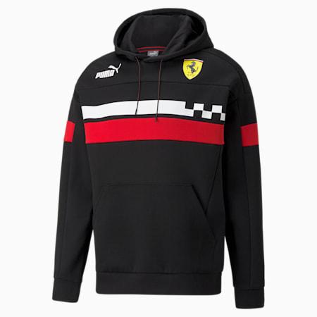 Sudadera con capucha Scuderia Ferrari Race SDS para hombre, Puma Black, pequeño
