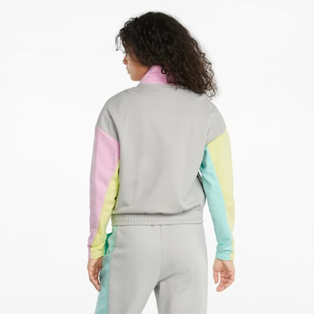 PUMA International Women's Track Jacket, Gray Violet, small-GBR