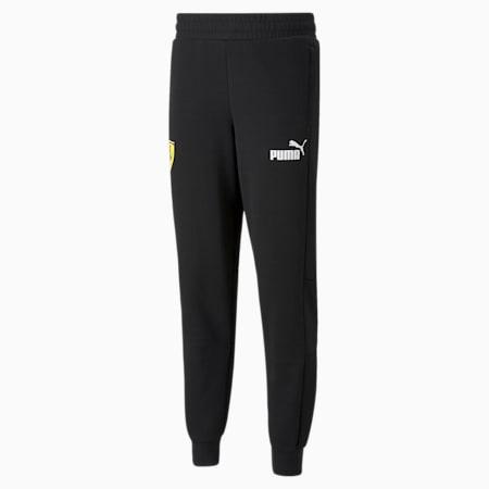 페라리 Race SDS 스웨트팬츠/Ferrari Race SDS Sweat Pants, Puma Black, small-KOR
